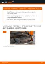 VW Lüftungsgitter Stoßstange links und rechts wechseln - Online-Handbuch PDF