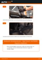 NISSAN ELGRAND Bremssattel Reparatursatz wechseln Anleitung pdf
