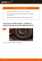 Wie Citroen C3 1 Koppelstange vorne wechseln - Anleitung