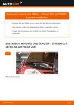 Wie Citroen C3 1 Motoröl und Ölfilter wechseln - Anleitung