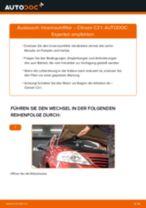 Wie Citroen C3 1 Innenraumfilter wechseln - Anleitung