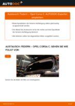 Wie Opel Corsa C Federn hinten wechseln - Anleitung