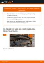 Wie Opel Corsa C Federn vorne wechseln - Anleitung