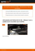 Aanbevelingen van de automonteur voor het vervangen van RENAULT Twingo c06 1.2 16V Oliefilter