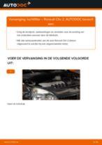 PDF handleiding voor vervanging: Luchtfilter RENAULT CLIO II (BB0/1/2_, CB0/1/2_)