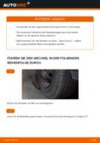 Radlager vorne selber wechseln: Opel Corsa C - Austauschanleitung