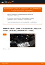 Changer Jambe de force arrière + avant AUDI à domicile - manuel pdf en ligne