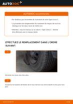 Comment changer : roulement de roue avant sur Opel Corsa C - Guide de remplacement