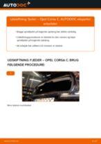 Udskift fjeder bag - Opel Corsa C | Brugeranvisning