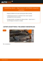 Udskift fjeder for - Opel Corsa C | Brugeranvisning