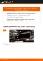 Udskift støddæmper bag - Opel Corsa C | Brugeranvisning