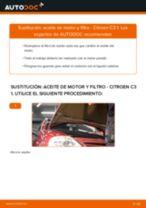 Cómo cambiar: aceite y filtro - Citroen C3 1 | Guía de sustitución