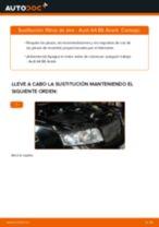 Cambio Filtro de Aire AUDI A4 Avant (8E5, B6): guía pdf