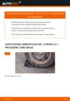 Come cambiare ammortizzatori della parte posteriore su Citroen C3 1 - Guida alla sostituzione