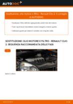 Come cambiare olio motore e filtro su Renault Clio 2 - Guida alla sostituzione