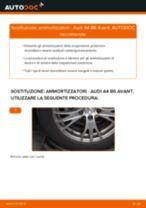 Come cambiare ammortizzatori della parte posteriore su Audi A4 B6 Avant - Guida alla sostituzione