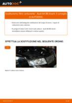 Come cambiare filtro carburante su Audi A4 B6 Avant - Guida alla sostituzione
