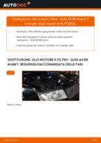 Come cambiare olio motore e filtro su Audi A4 B6 Avant - Guida alla sostituzione