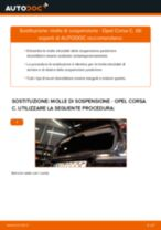 Manuale online su come cambiare Filtro aria motore OPEL KARL