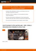Come cambiare filtro antipolline su Opel Corsa C - Guida alla sostituzione