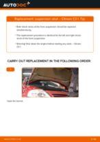 DIY MERCEDES-BENZ change Steering Knuckle Bushing - online manual pdf
