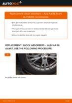 DIY PEUGEOT change Bracket, stabilizer mounting - online manual pdf