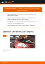 Byta kupéfilter på Citroen C3 1 – utbytesguide