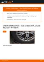 Byta stötdämpare bak på Audi A4 B6 Avant – utbytesguide