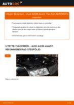 Byta fjäderben fram på Audi A4 B6 Avant – utbytesguide