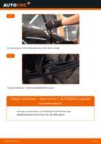 Byta torkarblad bak på Opel Corsa C – utbytesguide