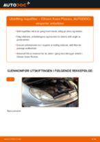 Gratis instruksjoner på nett for bytte Håndbrekksko CITROËN XSARA PICASSO (N68)