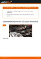 Slik bytter du luftfilter på en Opel Corsa C – veiledning
