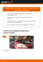 Kuinka vaihtaa raitisilmasuodatin Citroen C3 1-autoon – vaihto-ohje