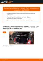 Wymiana Amortyzator RENAULT CLIO: instrukcja napraw