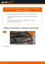 Ako vymeniť predné pružina podvozku na Opel Corsa C – návod na výmenu