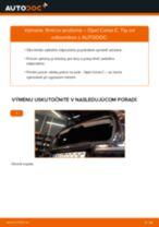 Ako vymeniť zadné tlmiče pruženia na Opel Corsa C – návod na výmenu