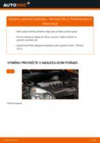 Jak vyměnit přední pérovací jednotka na Renault Clio 2 – návod k výměně