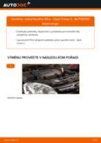 Jak vyměnit vzduchový filtr na Opel Corsa C – návod k výměně