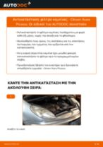Οδηγός επισκευής βήμα - βήμα Citroen Berlingo mk2