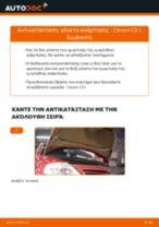 Οι συστάσεις του μηχανικού αυτοκινήτου για την αντικατάσταση CITROËN CITROËN C3 I (FC_) 1.4 i Ανάρτηση