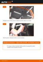 Kako zamenjati avtodel brisalce spredaj na avtu Opel Zafira B A05 – vodnik menjave