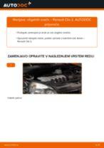 Kako zamenjati avtodel vžigalne svečke na avtu Renault Clio 2 – vodnik menjave
