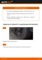 Kako zamenjati avtodel kolesni ležaji spredaj na avtu Opel Corsa C – vodnik menjave