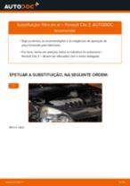Como mudar filtro de ar em Renault Clio 2 - guia de substituição