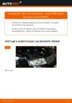 MANN-FILTER WK 853/3 x para A4 Avant (8E5, B6) | PDF tutorial de substituição