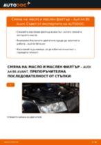 Как се сменя масло и маслен филтър на Audi A4 B6 Avant – Ръководство за смяна