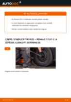 RENAULT THALIA javítási és kezelési útmutató pdf