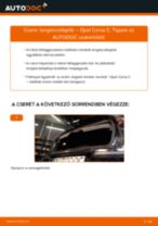 Hátsó lengéscsillapító-csere Opel Corsa C gépkocsin – Útmutató