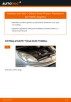 Internetinis vadovas, kaip pačiam pakeisti Remonto Komplektas Stabdžių Apkaba ant Ford Fiesta Mk6