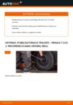 Ford Focus dnw gale ir priekyje Stabdziu Apkabos Laikiklis pakeisti: žinynai pdf